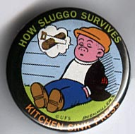 Button 129: How Sluggo Survives (Ernie Bushmiller)