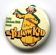 Button 186: The Yellow Kid by R. F. Outcault