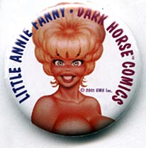 Button 232: Little Annie Fanny: Dark Horse Comics
