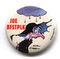 Button 240: Joe Bfstplk (man with cloud over head) by Al Capp