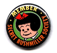 Button 248: Member: Secret Bushmiller Society
