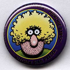 Button 207-A: Freak Brothers Munchie Bars [Purple Fat Freddy variant]