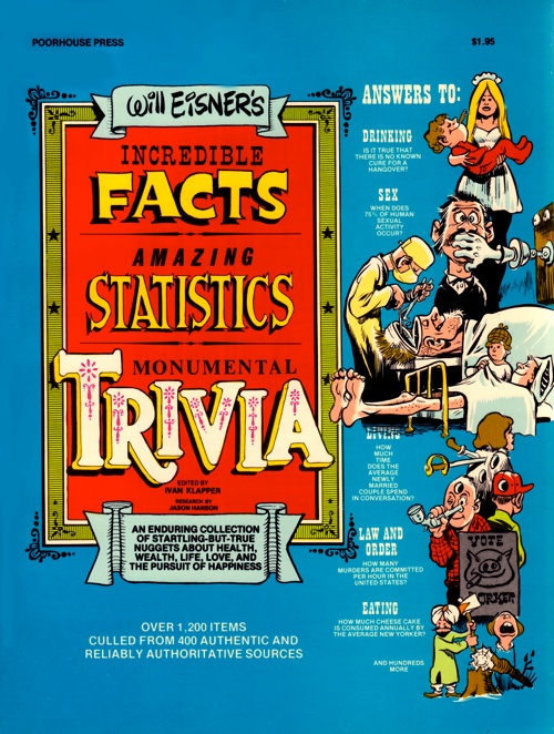 Incredible Facts, Amazing Statistics, Monumental Trivia by Will Eisner