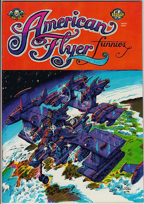 AMERICAN FLYER #2 by Larry Welz & Larry Todd (1972)