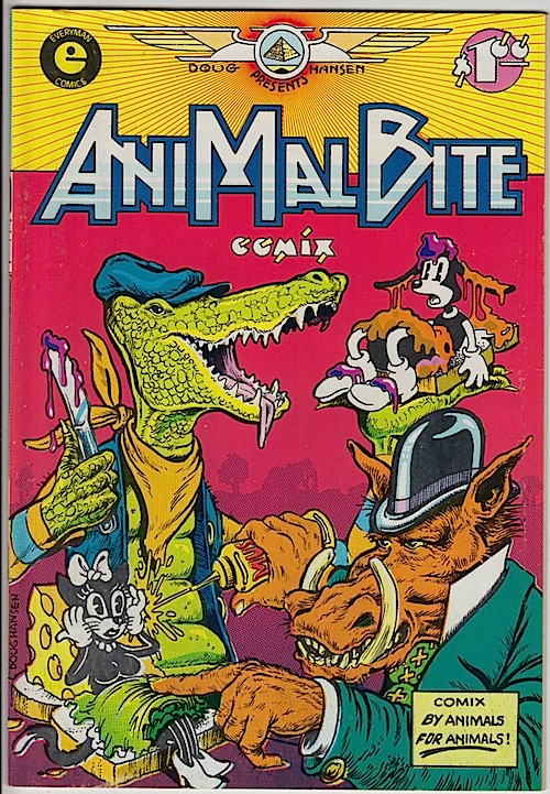 ANIMAL BITE COMIX by Hansen, Emerson & Geary (1979)