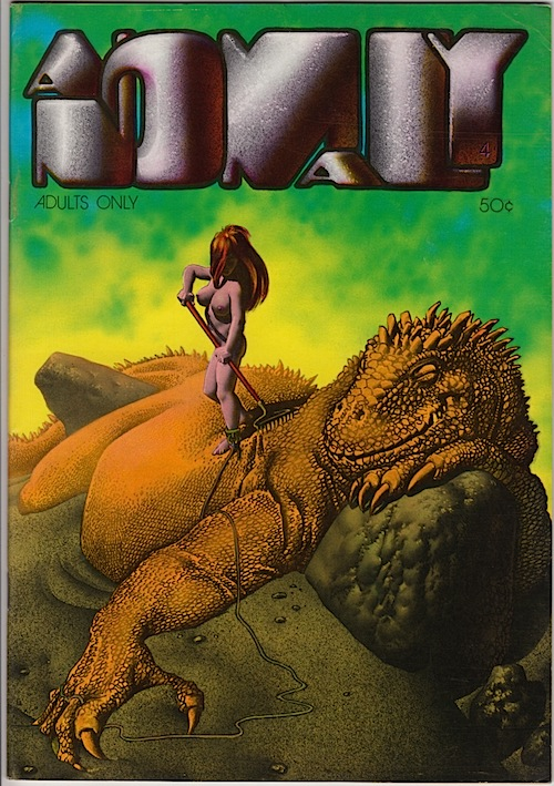 ANOMALY #4 by RICHARD CORBEN (1974)