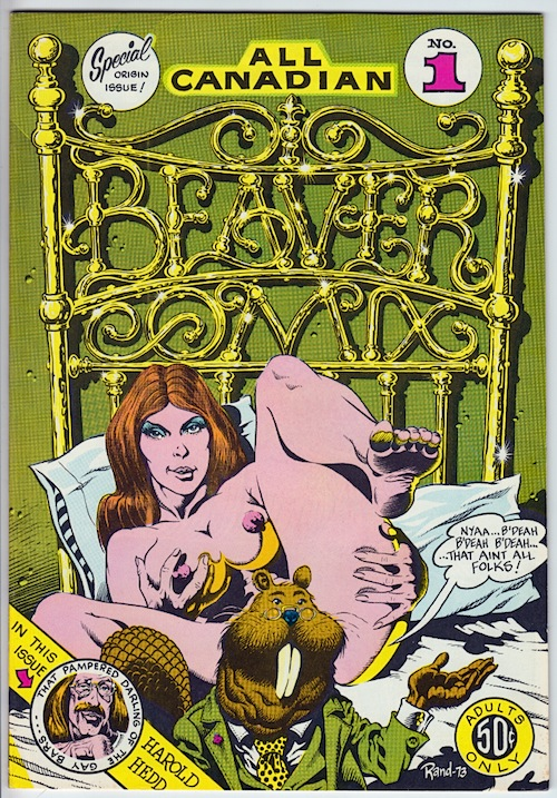 ALL CANADIAN BEAVER COMIX by Rand Holmes & others (1973)
