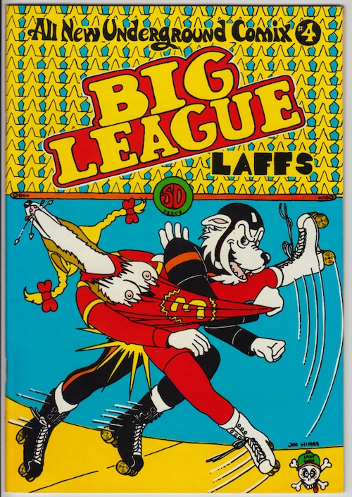 BIG LEAGUE LAFFS (All New Underground Comix #4)