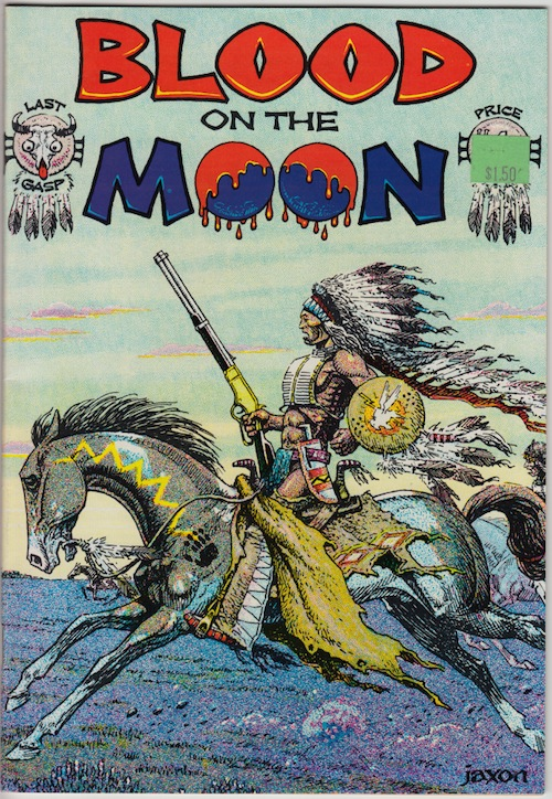 BLOOD ON THE MOON by Jack Jackson (1978)