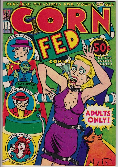 CORN FED COMICS #1 by KIM DEITCH (1972)