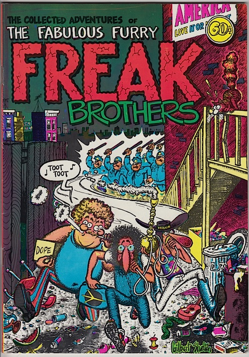 FABULOUS FURRY FREAK BROTHERS #1. Gilbert Shelton 1971 (11th printing)
