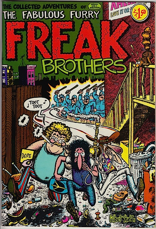 FABULOUS FURRY FREAK BROTHERS #1. Gilbert Shelton 1971 (16th printing)