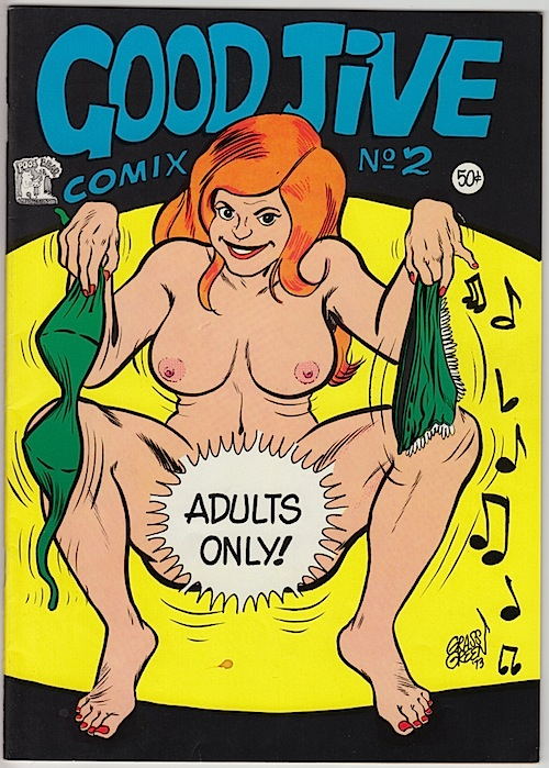 GOOD JIVE #2. Grass Green. (1972)