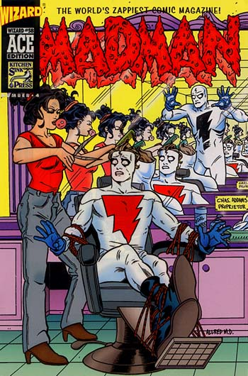 Madman by Mike Allred (Wizard Ace Ed. # 4)