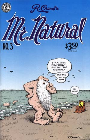 Mr. Natural Comic No. 3 by R. Crumb (10th)