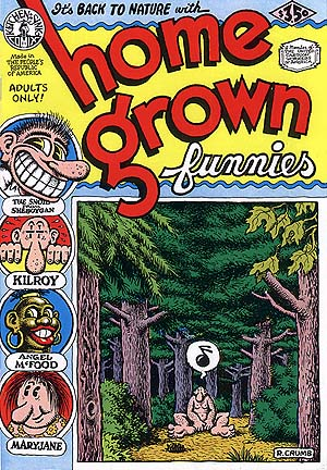 Home Grown Funnies by R. Crumb (16th)
