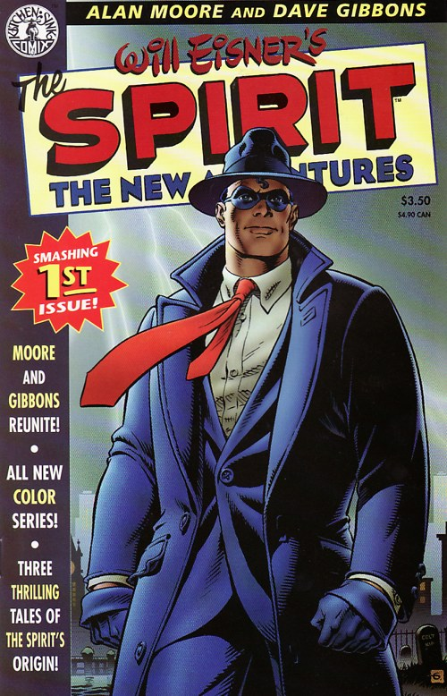 Spirit New Adventures No. 1 by Alan Moore & Dave Gibbons (1998)