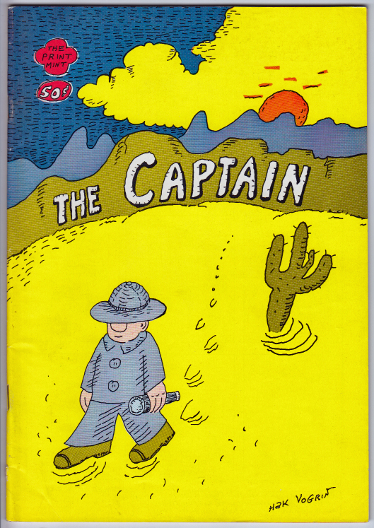 THE CAPTAIN by Hak Vogrin (1972)