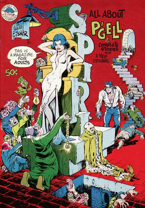 Underground Spirit No. 2 by Will Eisner (1973)