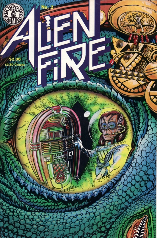 Alien Fire No. 2 by Anthony Smith and Eric Vincent (1987)