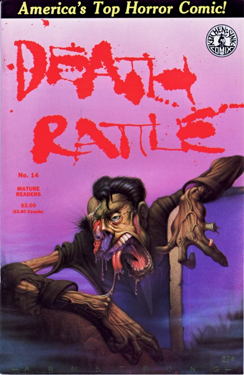 Death Rattle Vol. 2 No. 14 (1988)
