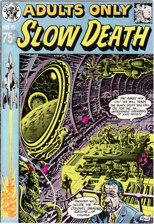 Slow Death Comics No. 6 (1974)