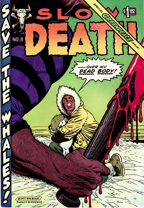 Slow Death Comics No. 8 (1977)