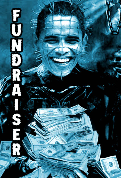Barack Obama is The Fundraiser Postcard