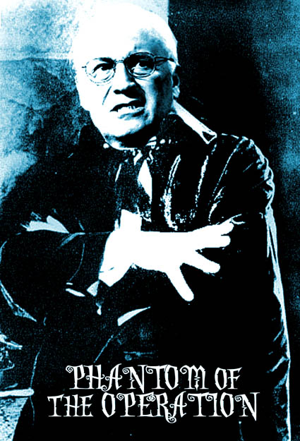 Dick Cheney stars as the Phantom of the Operation