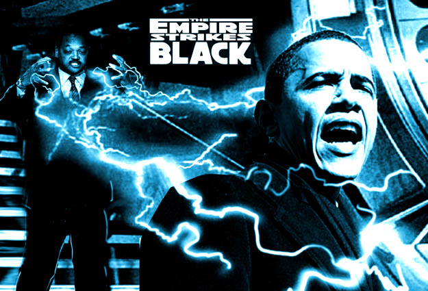 Barack Obama is The Empire Strikes Black