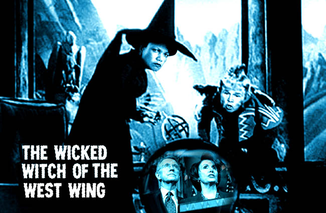 Condoleezza Rice is the Wicked Witch from the West Wing