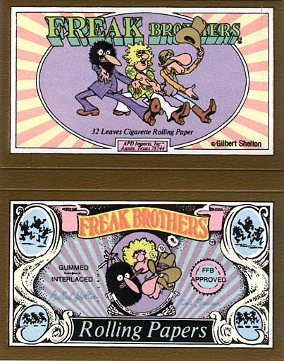 Freak Brothers Rolling Papers (1979)