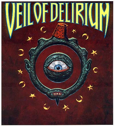 Veil of Delerium Card Set Promo Sign - Todd Schorr