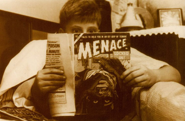 Reading Comics Postcard # 200 - Menace