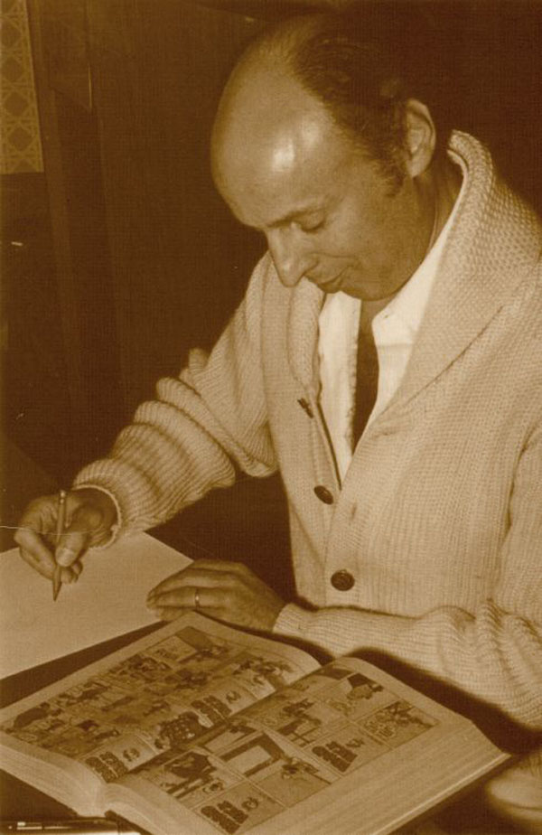Reading Comics Postcard # 201 - Harvey Kurtzman