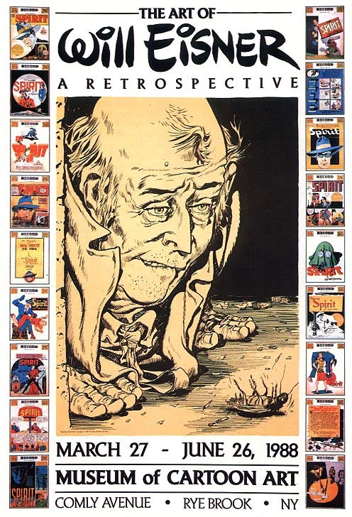 Art of Will Eisner: A Retrospective Poster S&N