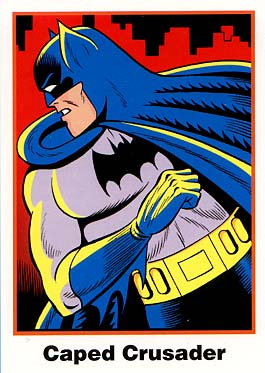 Batman Cards: No. 1 Caped Crusader (Ultra RARE Set)