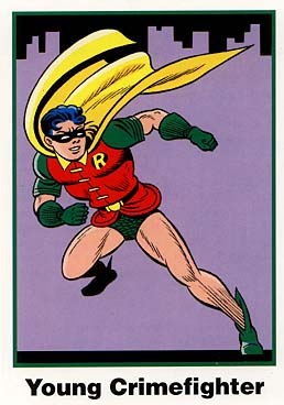 Batman Cards: No. 2 Robin (Ultra RARE Set)