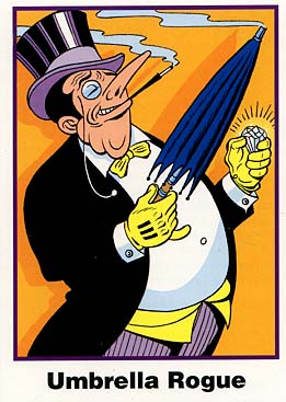 Batman Cards: No. 4 The Penguin (Ultra RARE Set)