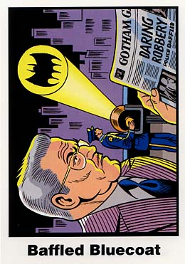 Batman Cards: No. 7 Commissioner Gordon (Ultra RARE Set)