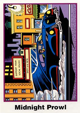 Batman Cards: No. 8 The Batmobile (Ultra RARE Set)