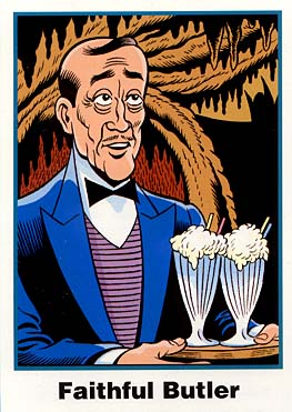 Batman Cards: No. 9 Alfred (Ultra RARE Set)