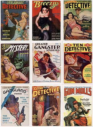 Bizarre Detective Card Set - NO Box