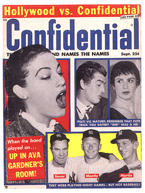 Confidential Magazine Trading Cards - NO Box