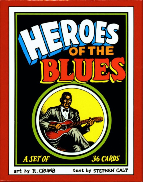 Heroes of the Blues Trading Cards by R. Crumb - DKP