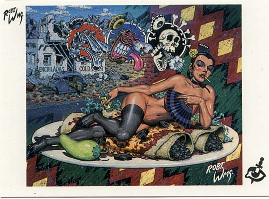 Robert Williams Trading Cards: Crimes Against the Eye