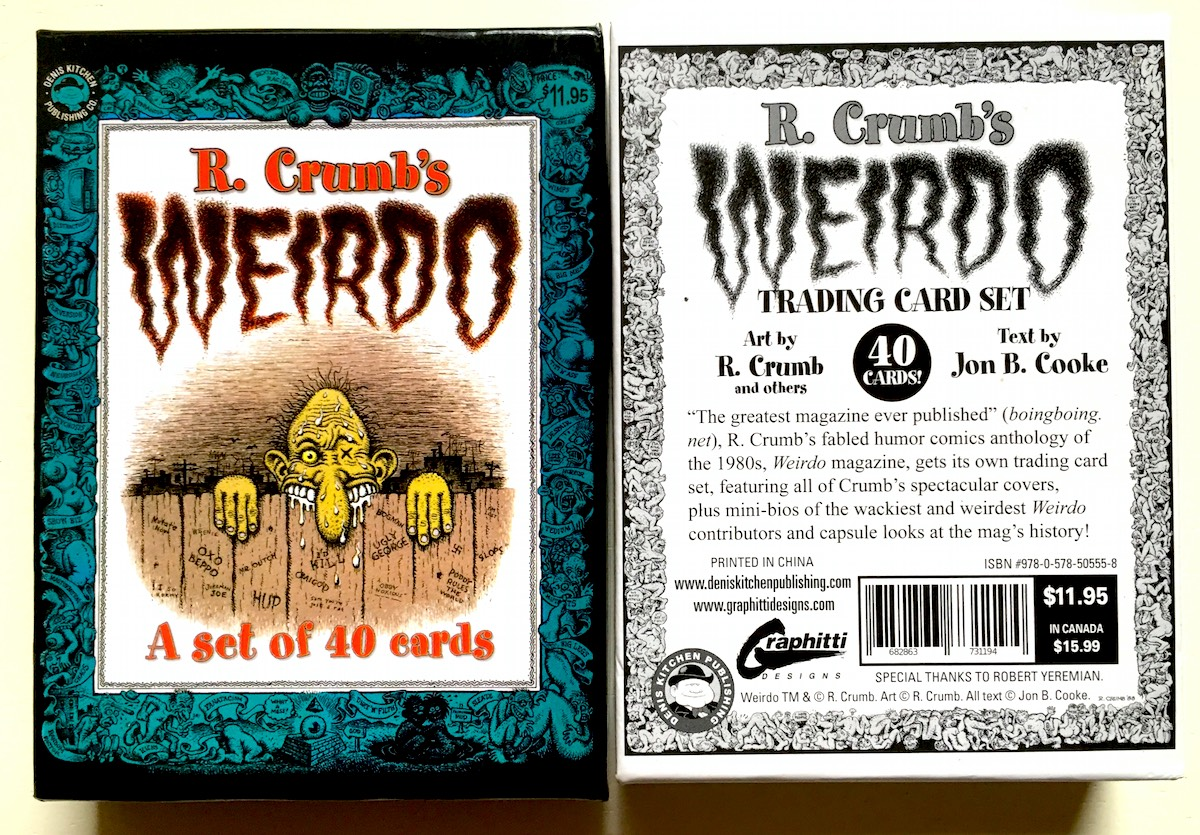 R. Crumb's Weirdo Trading Card Set (2019)