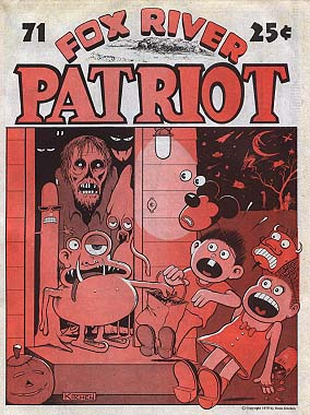 Fox River Patriot No. 71 (Oct 23, 1979) Kitchen Cover