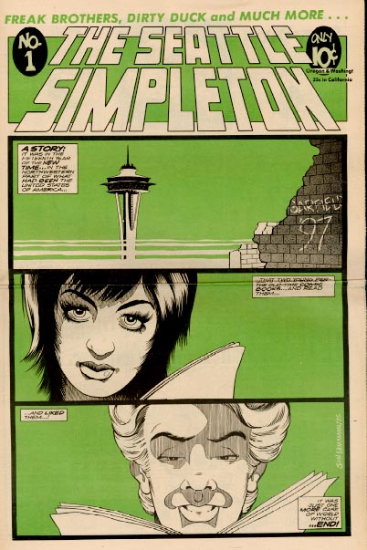 Seattle Simpleton Tabloid No. 1 (1975)