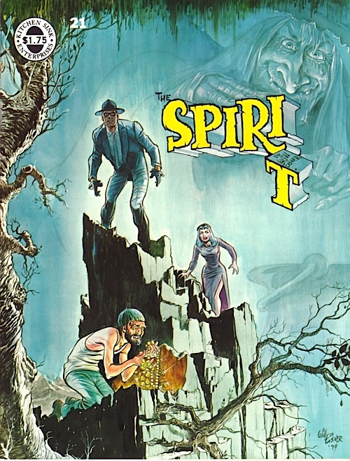 Spirit Magazine No. 21 by Will Eisner